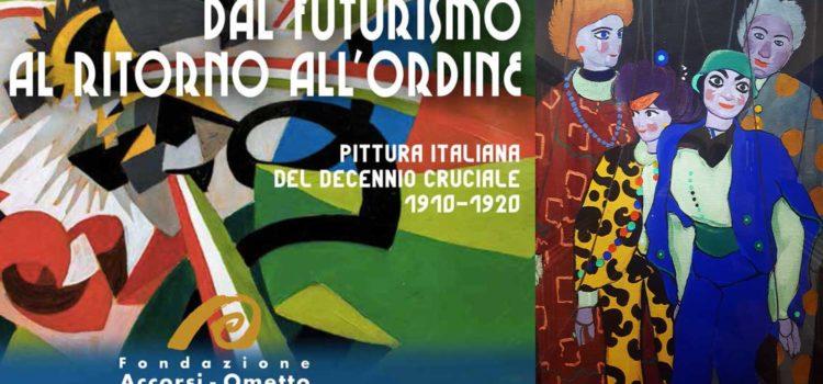 CASORATI E IL FUTURISMO ALLA FONDAZIONE ACCORSI